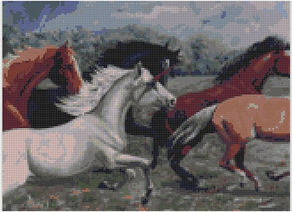 cross stitch pattern Chn-001c