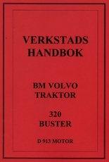 Volvo BM 320 Buster - verkstadshandbok - 210 sidor - svenska