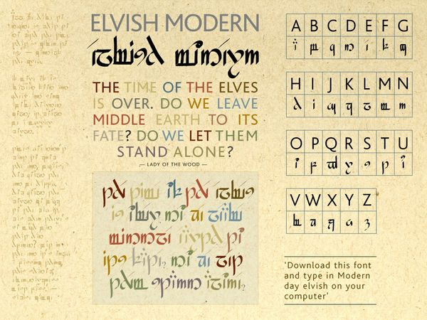 Elvish Modern