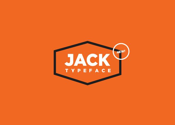 JACK Typeface