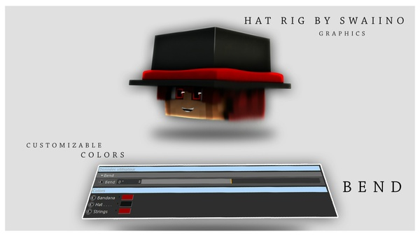 [FREE] Hat rig by SwaiinoGraphics