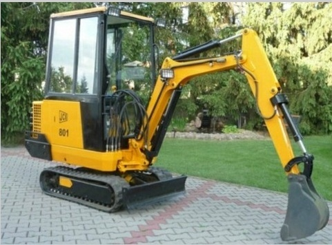 JCB 801 Tracked Excavator Service Repair Workshop Manual DOWNLOAD