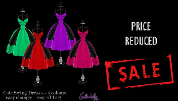 Swing dress - png - Chkn