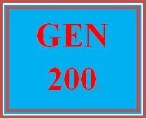 GEN 200 Week 1 Preparing for Academic Success