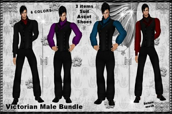 Victorian Male Bundle