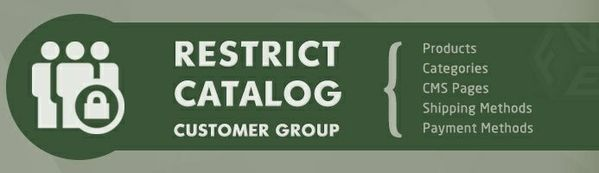 Restrict Catalog by Customer Groups Opencart Extension