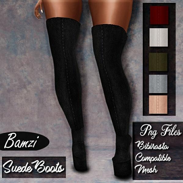 Bibi Compatible Suede Boots