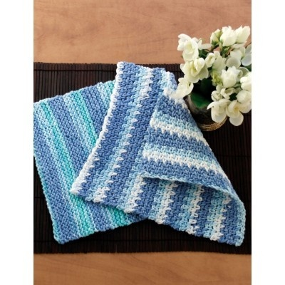 Dishcloth knit or crochet