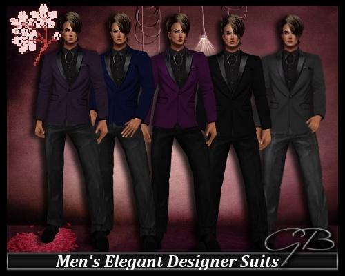 Men's Elegant Suit Set