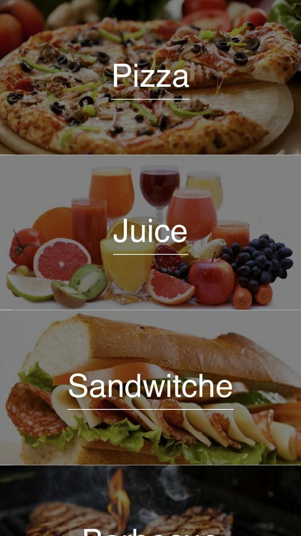 Simple Restaurant Menu ( Swift 4 )