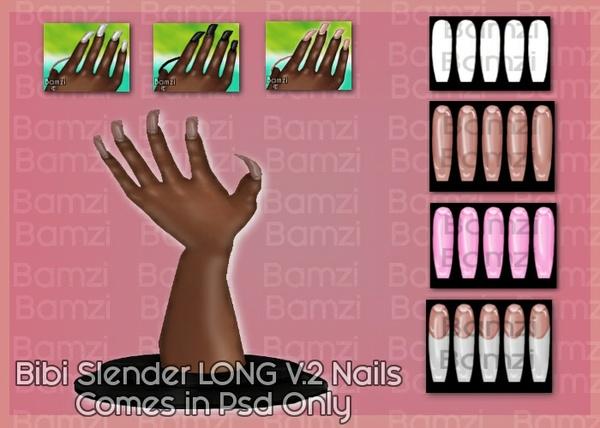 Bibi Slender v2 Nails Psd Only