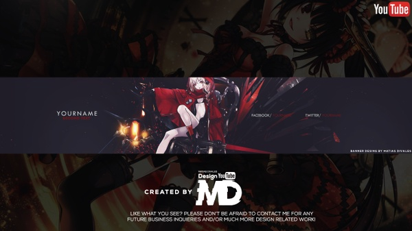 Banner Anime | Psd Download | By Matias Divales