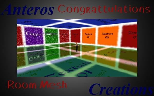 Room Mesh -- Congratulations
