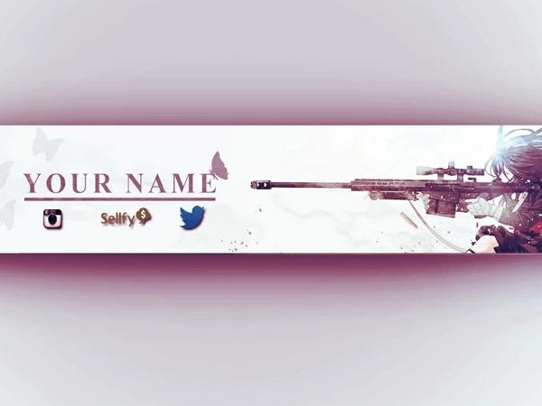 Anime YouTube Art! (Banner, Avatar, and Logo)