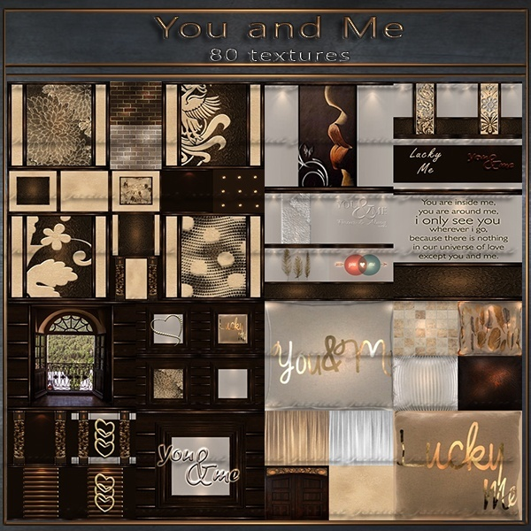 You & Me - 80 textures