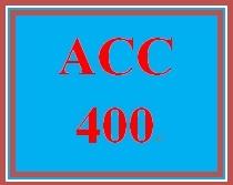 ACC 400 Week 5 Multiple Case Analysis/Presentation