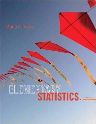 Elementary Statistics 12th Edition by Triola ( PDF )