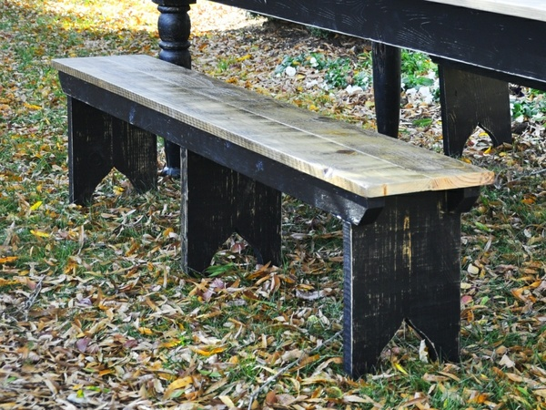Farmhouse Bench Woodworking Plans - Easy to Build!