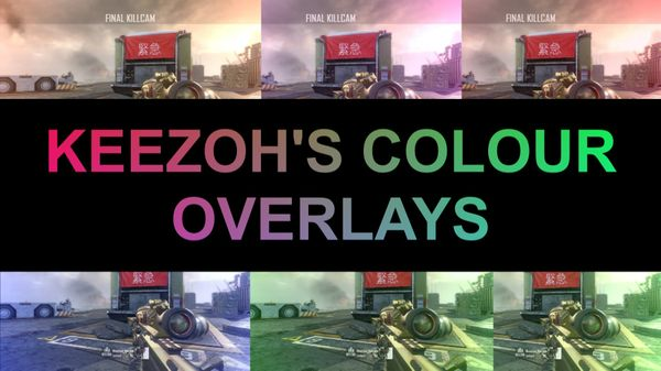 Keezoh's Coloured Overlays!