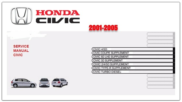 Honda Civic 2001-2005 Repair Service Manual