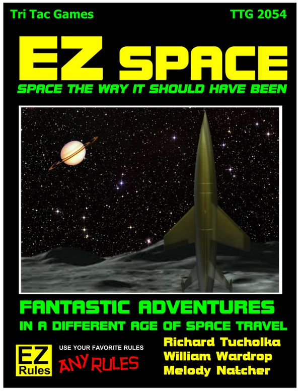 EZ Space:  Space The Way It Should Have Been