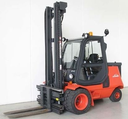 Linde Electric Forklift Truck 337-02 Series: E35P, E40P, E48P Workshop Service Manual