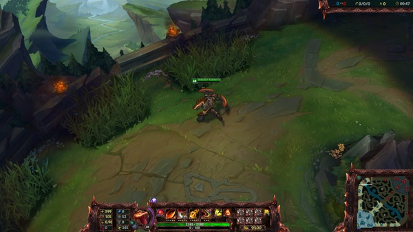 SCORCHED EARTH RENEKTON OVERLAY