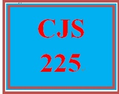 CJS 225 Week 1 Thinking Versus Critical Thinking Paper