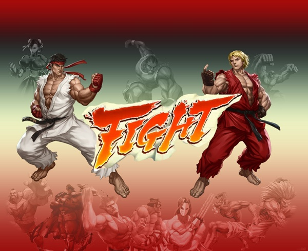 Street Fighter FL Studio Skins Graphics Pack