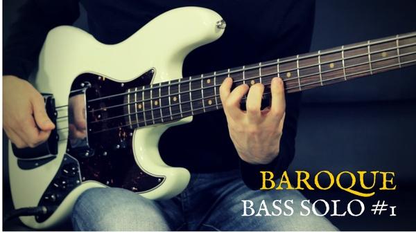 Baroque Bass Solo #1