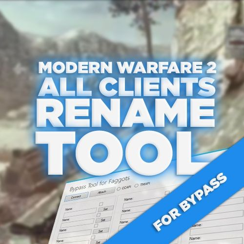 (PS3) MW2 - All Clients Name Changer for Bypass!