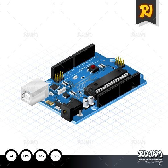 Isometric Single Board Microcontrollers