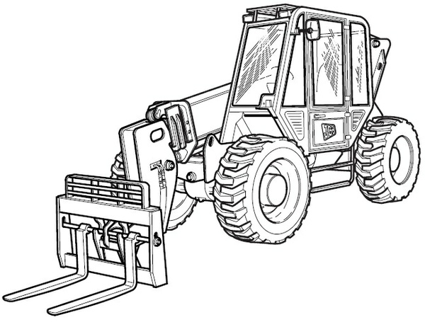 JCB 506C 506CHL 508C Loadalls Telescopic Handler Service Repair Manual Download