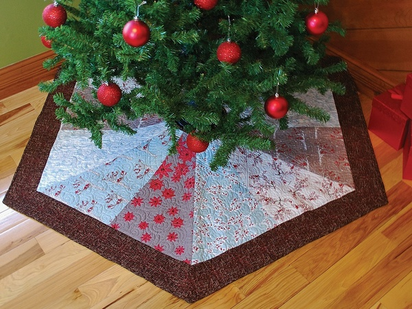 Hexagon Tree Skirt Pattern