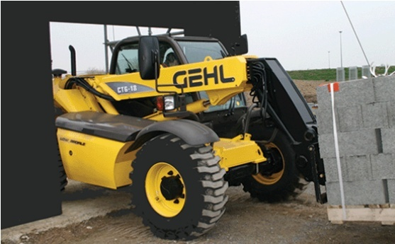 GEHL CT6-18 Turbo Telescopic Handler Parts Manual