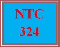 NTC 324 Week 4 Individual: Lab Challenge