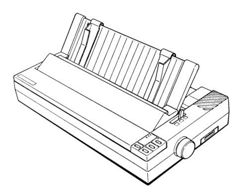 Epson LX-1050+ Terminal Printer Service Repair Manual