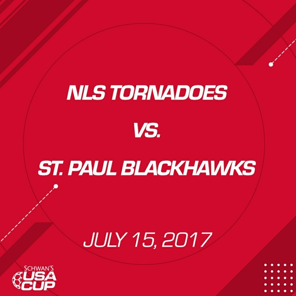 Boys U13 - July 15, 2017 - NLS Tornadoes V. St. Paul Blackhawks
