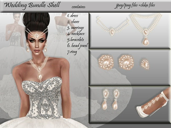 Wedding bundle Shell