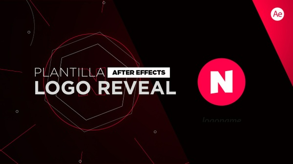 Logo Reveal Tech Plantilla After Effects