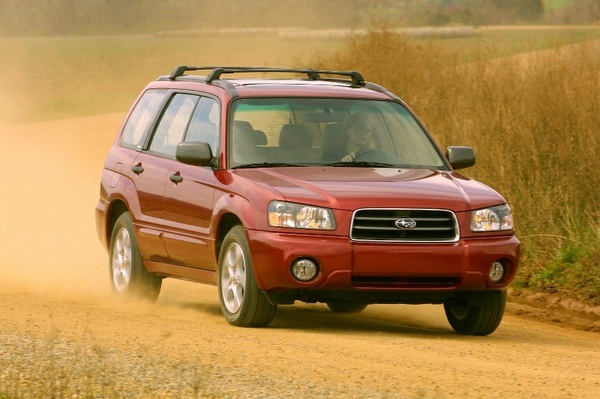 Subaru Forester 2003-2004 Factory Service Workshop repair manual