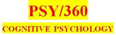 PSY 360 Week 4 Week Four Quiz