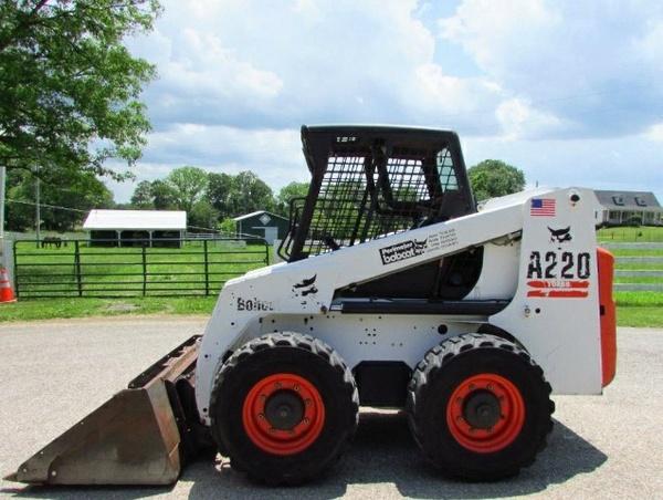 Bobcat A220 Turbo, A220 Turbo High Flow Skid Steer Loader Service Repair Manual (S/N 519611001 ... )