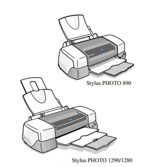Epson Stylus PHOTO 890/1280/1290 Color Inkjet printer Service Repair Manual