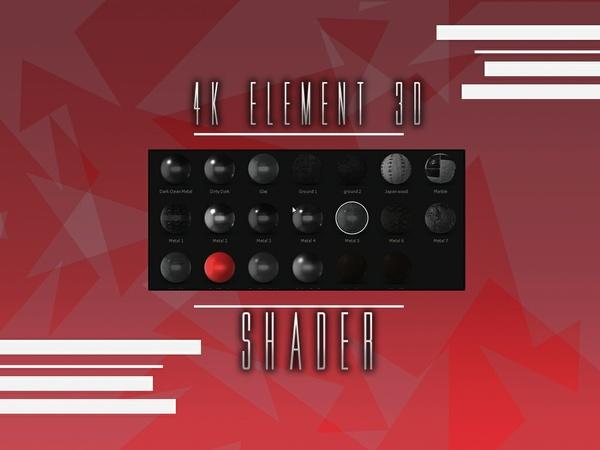 4K Element Shader
