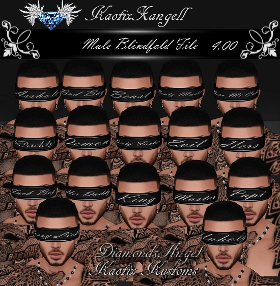 Blindfold File -Male-