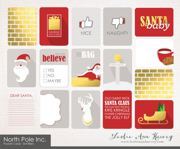 North Pole Inc. - Pocket Cards