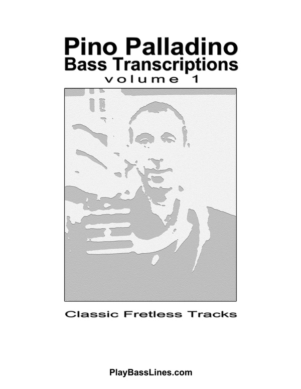 Pino Palladino - Bass Transcriptions / Bass Tabs - Classic Fretless Tracks