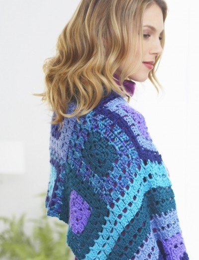 Inspired Squares Shawl