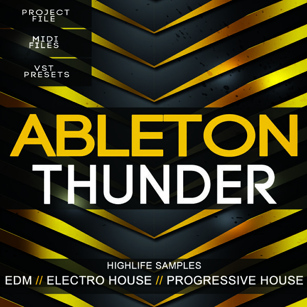 Ableton Thunder EDM Template
